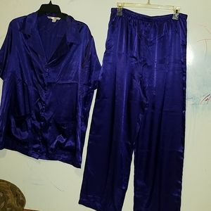 VS pajamas set in deep purple
